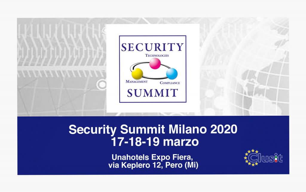 Security Summit 2020 CryptoNet Labs